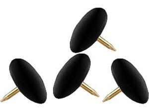 Πινέζες VICTORY μαύρες (100 τεμάχια)