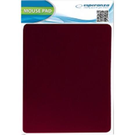 Mouse pad Esperanza Rubber Red EA145R