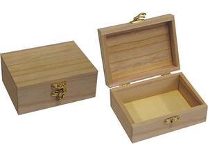 Κουτί ξύλινο με κλείστρο 10x13.5x5.5cm (24183)
