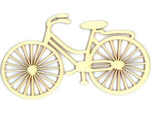 Ποδήλατο ξύλινο 12x7x0.3cm (24196)
