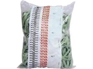 Λαστιχάκια πλακέ Viva 1kg 125mm (F5X080)