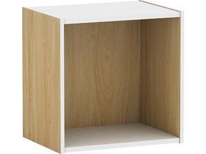 Κουτί DECOM Cube 40x29x40cm  απόχρωση σημύδας (Ε-00016897(Ε828,7)