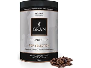 Καφές σε κόκκους GRAN ESPRESSO TOP SELECTION ROASTED COFFEE 250gr