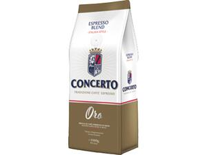 Καφές σε κόκκους CONCERTO ORO COFFE BEANS ROASTED COFFEE 1kg