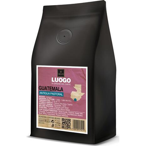 Καφές σε κόκκους GUATEMALA ANTIGUA PASTORAL LUOGO  ROASTED COFFEE  250gr