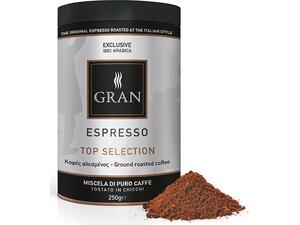 Καφές αλεσμένος GRAN ESPRESSO TOP SELECTION ROASTED COFFEE 250gr