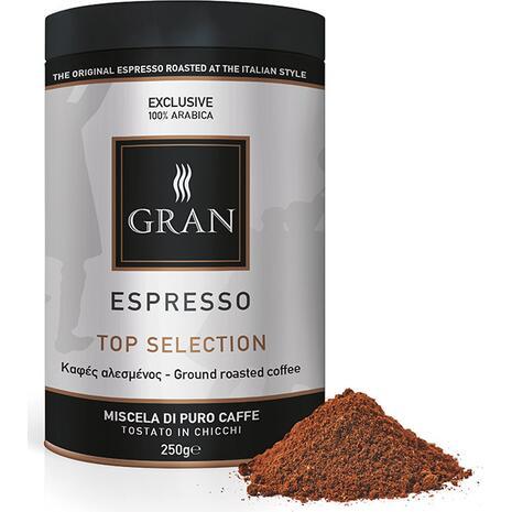 Καφές αλεσμένος GRAN ESPRESSO TOP SELECTION ROASTED COFFEE 250gr