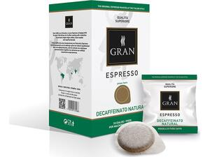 Καφές σε pods GRAN ESPRESSO DECAF NATURALE E.S.E  (18 τεμάχια)