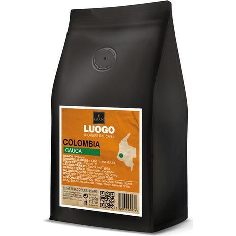 Καφές σε κόκκους COLOMBIA CAUCA LUOGO ROASTED COFFE 250gr