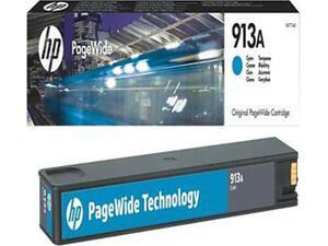 Toner εκτυπωτή HP 913A F6T77AE Cyan