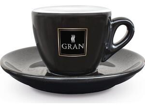 Κούπα  ESPRESSO GRAN CAFFE NERO/ORO 7ml Λευκή