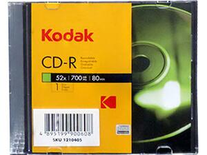 CD-R Kodak 700MB 52X Θήκη Slim