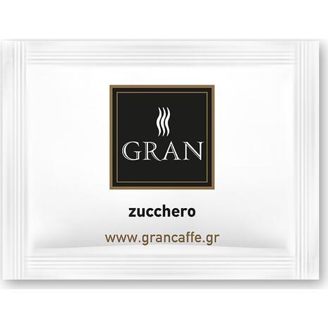 Ζάχαρη λευκή GRAN CAFFE (1000 τεμάχια) 4kg