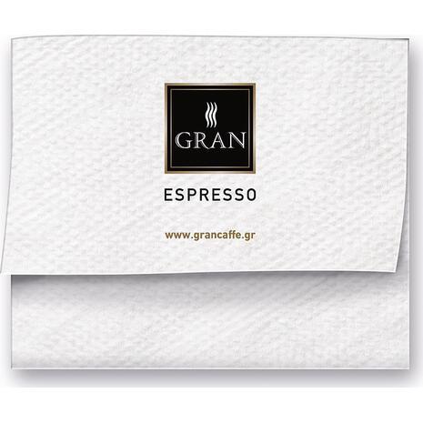 Χαρτοπετσέτες GRAN CAFFE 17x17 cm