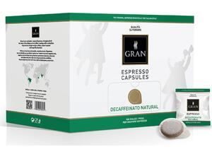 Καφές σε pods GRAN ESPRESSO DECAF NATURALE E.S.E ΒΟΧ (100 τεμάχια)