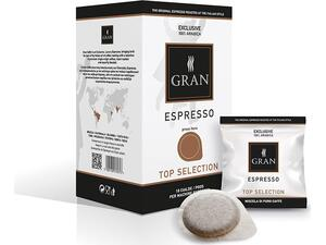 Καφές σε pods GRAN ESPRESSO TOP SELECTION E.S.E  (18 τεμάχια)