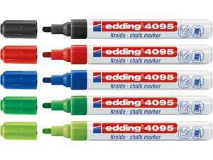 Μαρκαδόρος κιμωλίας EDDING 4095 σε διάφορα χρώματα