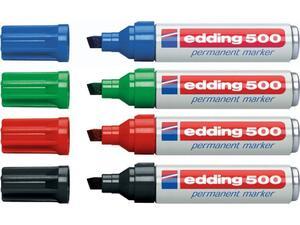 Μαρκαδόρος ανεξίτηλος EDDING 500 σε διάφορα χρώματα