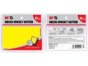 Αυτοκόλλητα χαρτάκια σημειώσεων M&G Stick Me 76x127mm με 4 χρώματα (YS-185)