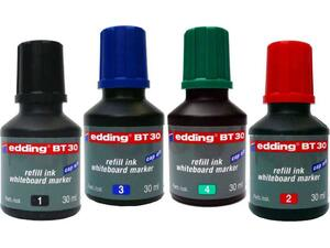 Μελάνι για μαρκαδόρου λευκού πίνακα EDDING BT30 30ml σε διάφορα χρώματα