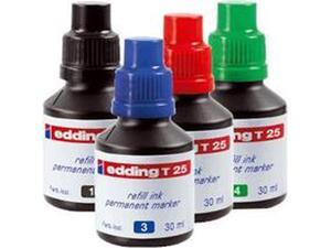 Μελάνι για μαρκαδόρο ανεξίτηλο EDDING T-25 30ml σε διάφορα χρώματα