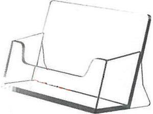 Σταντ ακρυλικό για bussiness cards 5.5x9.5 x4cm.
