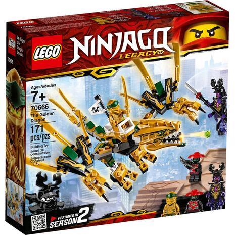 Lego Ninjago Ο Χρυσός Δράκος - The Golden Dragon 70666