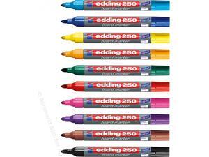 Μαρκαδόρος πίνακα EDDING 250 3.00mm σε διάφορα χρώματα