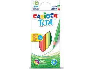 Ξυλομπογιές CARIOCA Tita (12 τεμάχια)
