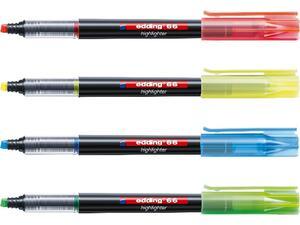 Μαρκαδόρος υπογράμμισης EDDING 66 σε διάφορα χρώματα