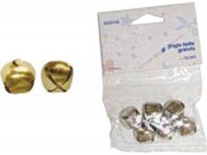 Κουδουνάκια CRAFT DECO 12mm συσκευασία 8 τεμαχίων χρυσό