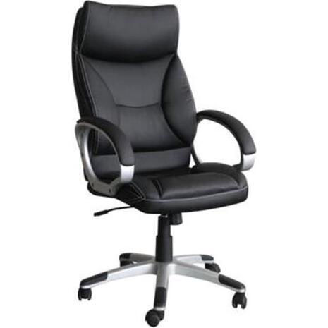 Πολυθρόνα γραφείου διευθυντή BF5700 Μαύρη [Ε-00017855] ΕΟ300 (Μαύρο)
