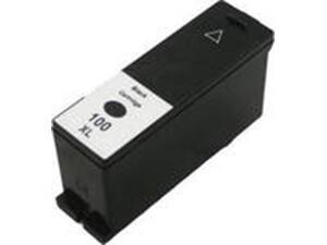 Μελάνι εκτυπωτή Συμβατό EV Lexmark 100XL Black