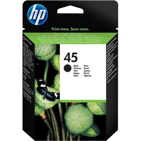 Μελάνι εκτυπωτή HP 45 Black 51645AE (Black)