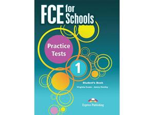 FCE For Schools Practice Tests 1 Students Book