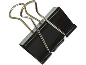 Πιάστρα μαύρη μεταλλική BINDER 25mm  (1 τεμάχιο)