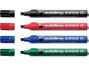 Μαρκαδόρος ανεξίτηλος EDDING 2200 σε διάφορα χρώματα