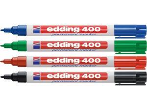 Μαρκαδόρος ανεξίτηλος EDDING 400 σε διάφορα χρώματα