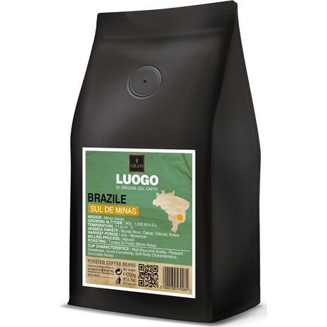 Καφές σε κόκκους BRAZIL SUL DE MINAS LUOGO ROASTED COFFEE 250gr
