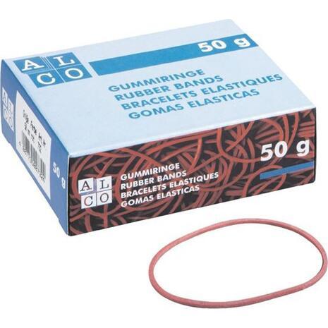 Λαστιχάκια Alco Φ100-160mm 50gr No737/1 κόκκινα