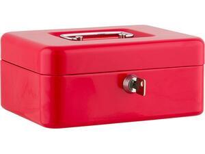 "Kουτί ταμείου ALCO 10"" κόκκινο 250x175x65 mm"