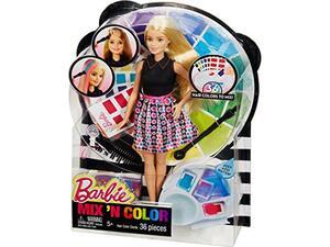 Barbie Mix 'N Color - Xρωματιστές ανταύγιες