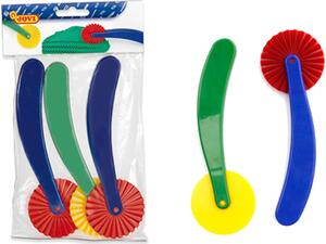 Εργαλεία πλαστελίνης JOVI ροδέλα κοπής σετ 3 τεμαχιών
