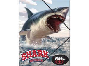 Φάκελος με λάστιχο Back me up No fear Shark  Α4