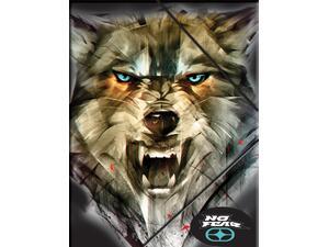 Φάκελος με λάστιχο Back me up No fear Army wolf (347-51510)