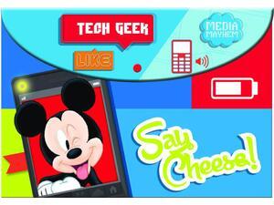 Φάκελος με κουμπί GIM PP Mickey Street Smart Α4 (340-73580)