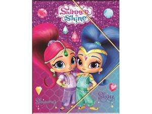 Φάκελος με λάστιχο PP GIM Shimmer & Shine (334-46515)