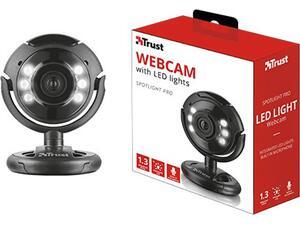 Ψηφιακή web κάμερα TRUST με μικρόφωνο και λυχνίες Led 1.3 megapixel (16428)