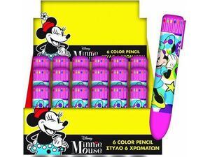 Στυλό GIM 6 χρωμάτων Minnie (340-51648)