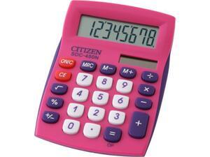 Αριθμομηχανή Citizen SDC-450NPK ρόζ  (8 Ψηφίων)